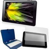 Tablet 10.1 3g + Teclado+ Film Protector Nogapad 10.1 Ghd
