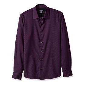 Camisa Original Van Heusen Men Slim Dobby Long Sleeve Shirt
