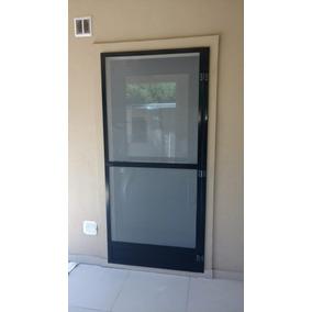 Puertas Mosquiteras De Aluminio Negro