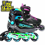 Rollers Patin Profesionales Boissy Extensibles Aluminio Abec