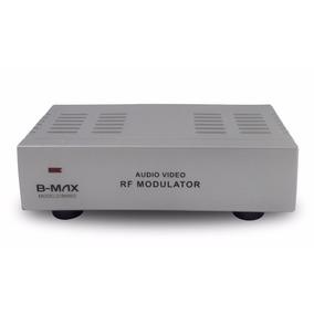 Modulador Rf Universal Conversor De Rf P/ Audio Video Rca