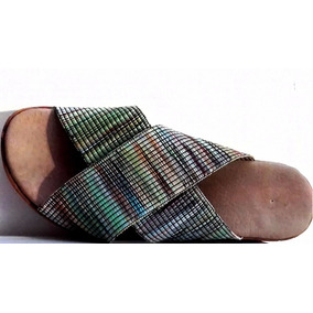 Sandalias Elastico Taco Corcho Mujer Moda Fiorcalzados