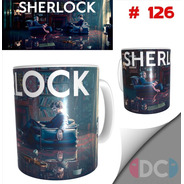 Taza Sherlock Holmes Series De Tv # 126