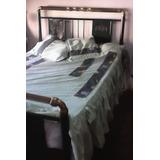 Cama Bronce Antigua.cama Dos Plazas.cama Usada
