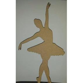 Bailarina De Ballet Para Centro De Mesa 25cm