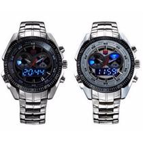 Relógio Masculino Tvg Aço Inoxidável
