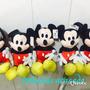 Mickey Pelucias Kit Com 6