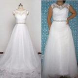 Vestido De Noiva Plus Size Divino E Delicado Barato