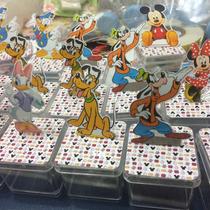Caixinha Acrilico 3d Turma Do Mickey