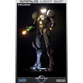 Samus Light Suit Exclusive F4f Metroid Prime Echoes Esc 1/4