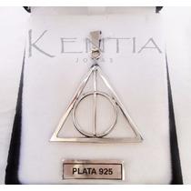 Dije Plata 925 Reliquias Muerte Poder Harry Potter Unisex