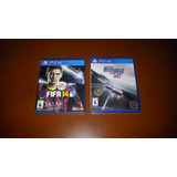 Nfs Rivals Ps4 + Fifa 14. Originales. Mercado Pago