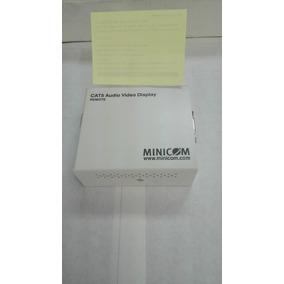 Extensor De Video 360ft Minicom Vga Extender Cat 5 Rj45