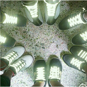 Cordones Cintas Para Zapatillas Reflectantes Running 120 Cm