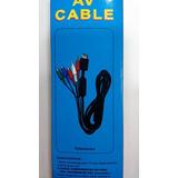 Cable Audio Video Av Compuesto Para Ps1 Ps2 Y Ps3