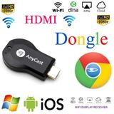 Miracast Wifi Pantalla Tv Dongle Receptor Inalámbrico 1080p