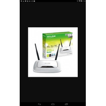 Router Tp Link 300mbps Doble Antena Nuevo