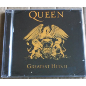 Cd Queen Greatest Hits Vol.2 Encarte Livreto Lacrado Fábrica