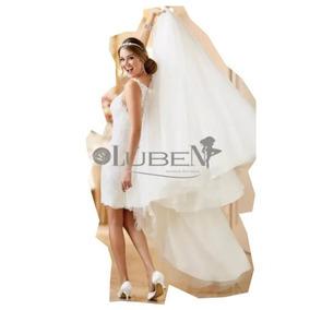 Promoção Vestido De Noiva Cauda Longa 2 Em 1 Encomenda