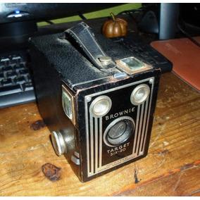 Antigua Camara Brownie Target Sx-20 De Kodak