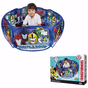 Transformers Piscina Meninos Barato Com 100 Bolinhas