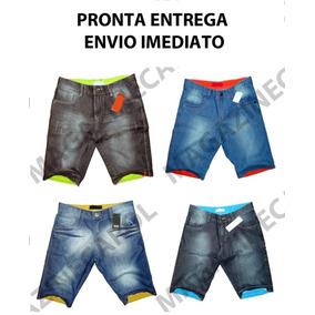 Kit C/4 Bermudas Jeans Masculina Preço De Atacado Lindas