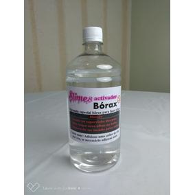 Borax Ativador De Slimes 01 Litro Verdadeiro Borax