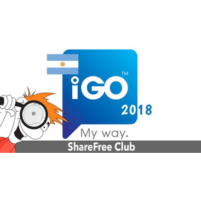 Mapa Argentina 2018 P/ Igo Igo8 Primo Estereos Y Gps Chinos