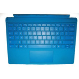 Teclado Para Tablet Surface Pro 3 O 4 Color Azul Con Detalle
