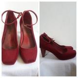 Sapato Melissa Usado Feminino Tamanho 37 Flocado/veludo