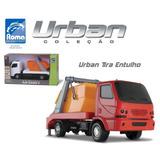 Caminhão Caçamba Tira Entulho Urban - Roma Brinquedos