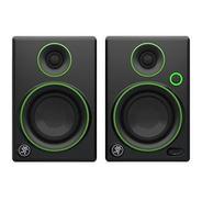 Mackie Studio Monitor Negro W Ribete Verde De 3 Pulgada Cr3