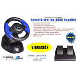 Volante Noga Para Ps2 / Pc Speed Driver Ng3080