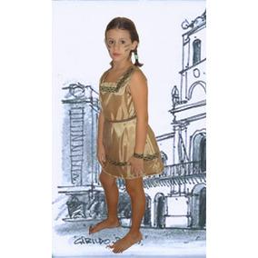 Disfraz India Patrio Escolar Para Nena!
