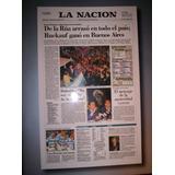 Diario La Nación: Las Últimas Tapas Del Siglo (ed. Especial)
