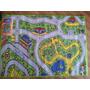 Carpeta Alfombra Infantil Pista 140 X 200 Mod 2
