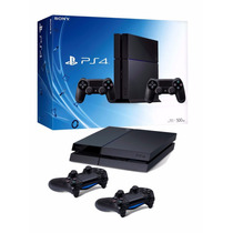Consola Ps4 500gb 100% Nueva Con 2 Joysticks