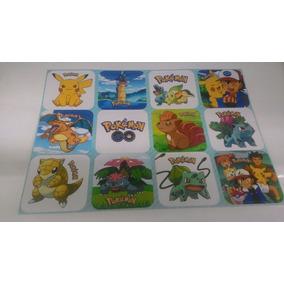 Kit Adesivos Pokémon Go Com 120 Peças De Adesivos Para Festa