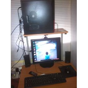 Computadora Intel Core 2 Duo Con Mesa Incluida Oferta