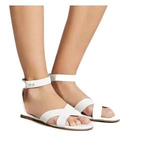 Sandalias De Mujer Forever 21 - Color Blanco