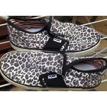 Panchas O Zapatillas Pony Animal Print, Talle 36