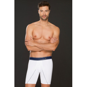 Bóxer De Hombre Largo Compresion Shorts Masculino Interior