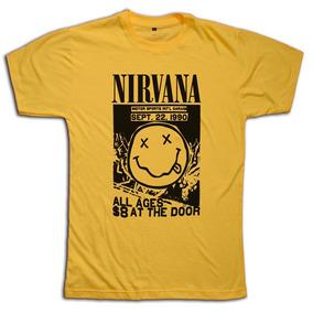 Remeras Nirvana Kurt Cobain - Personalizadas