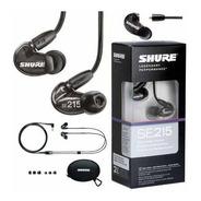 Auriculares Shure Se215 Earphones In Ear Garantia Oficial Monitoreo Intraural Nuevo Envio