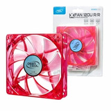 Fancooler Deepcool 12 X 12 Cm Fan Led Rojo