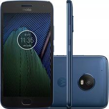 Celular Moto G5 Xt1683 Plus Tv Dual Chip Android 7 32gb Azul