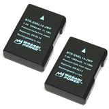 Wasabi Power Battery (2-pack) For Nikon En-el14, En-el14a An