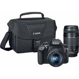 Camara Profesional Canon Eos Rebel T6 Dslr 2lentes 18-55mm