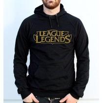 Blusa Moletom League Of Legends Canguru - Frete Grátis