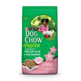 Ração Purina Dog Chow Papita Para Cães Filhotes 20kg